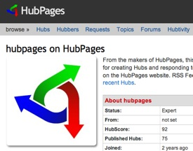 earn with hubpages