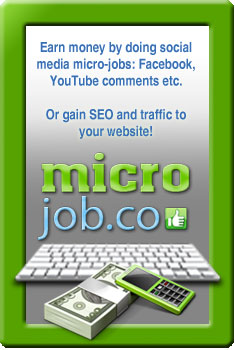 MicroJob.co - get paid for data entry