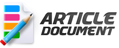 Get paid to write blog posts and news articles for ArticleDocument.com