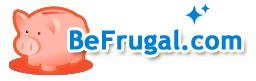 Free coupons and money back offer at BeFrugal
